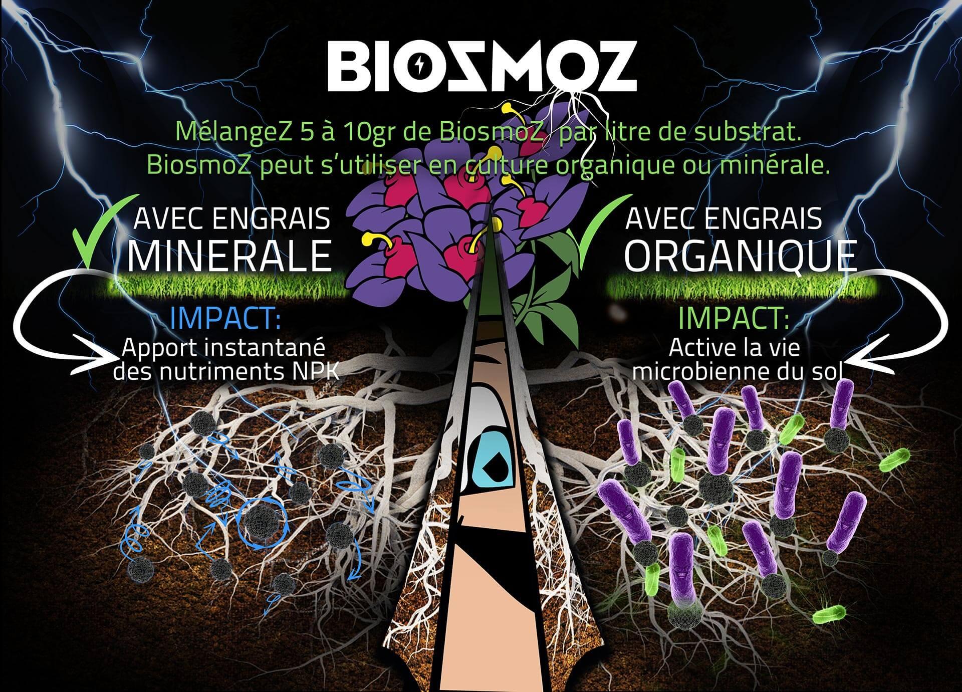 Explication de la gamme 100% naturelle BiosmoZ