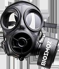 BiosmoZ agit comme un masque à gaz pour les plantes